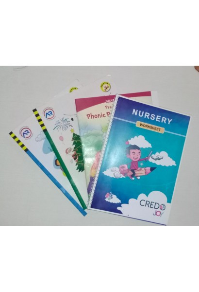 Books Set Credo Joy - KG-1