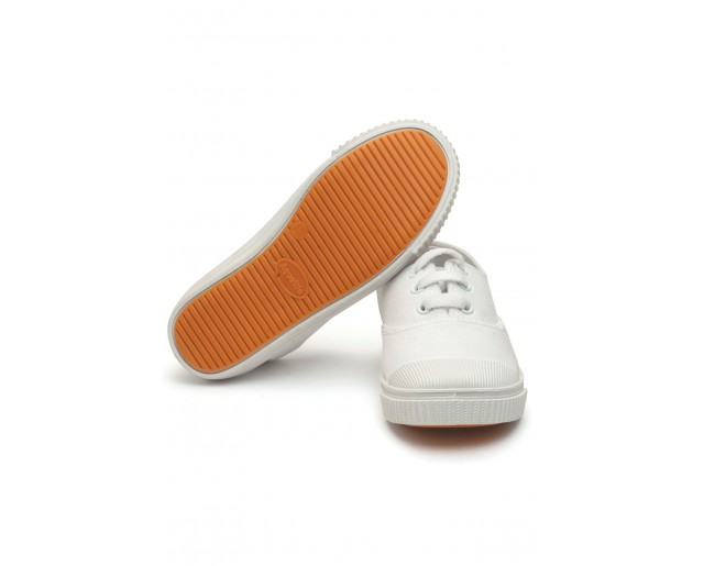 CWS Canvas Shoes White Lace