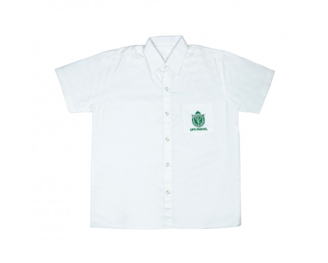 DPS Half sleeve Shirt - White