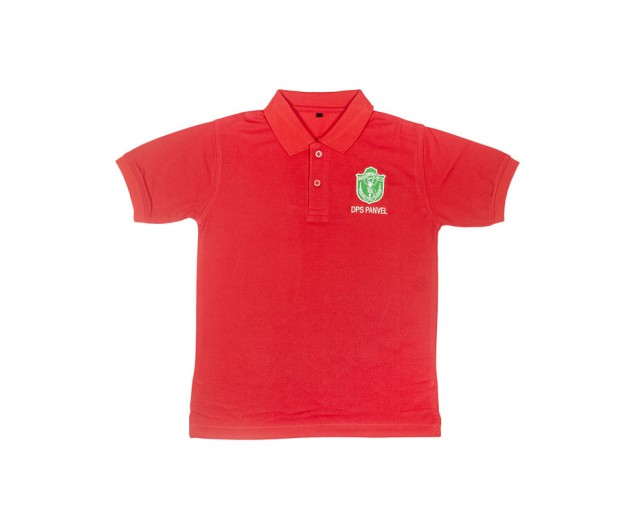 DPS House Color Collar T-shirt