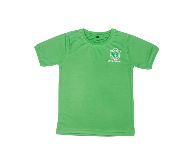 DPS House Color Roundneck T-shirt - Green House