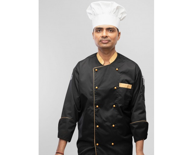 Coat Chef Polyester Cotton Twill