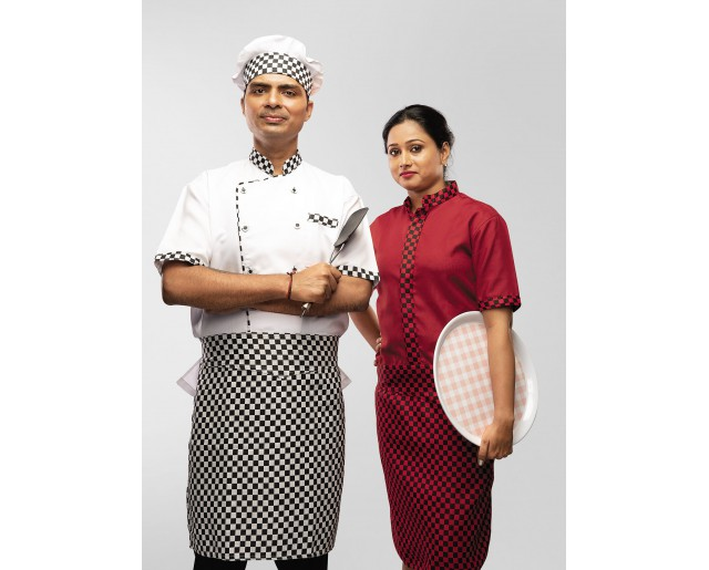 Apron Chef Black & White